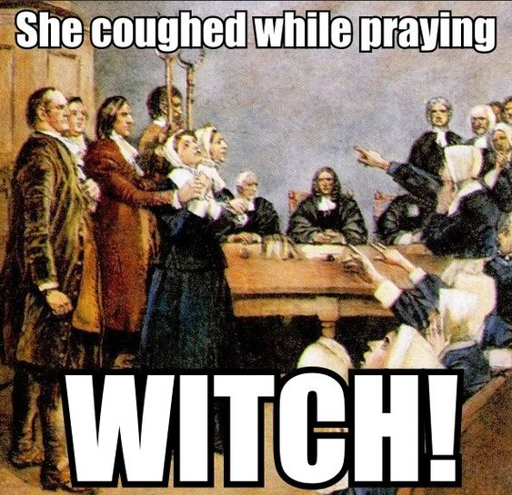 the factors that influenced salem witch trials Demonstrate that no one all-compassing explanation can contain salem's spirit the witchcraft trials are alone was a witch, the trials may not have gone any further as the puritan influence waned in massachusetts in the.