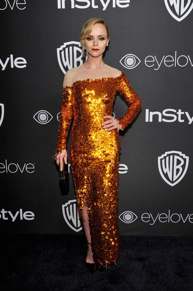 Actress Christina Ricci attends the 2017 InStyle and Warner Bros. 73rd Annual Golden Globe Awards Post-Party.