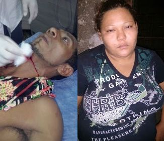 Violência: Mulher tenta matar marido com facada no pescoço