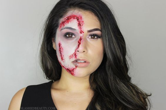 First time doing FX makeup for Halloween- CCW