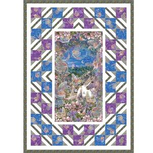 Dreamland Quilt. Free pattern from Quilting Treasures. PANEL QUILTS Pinterest Free pattern ...