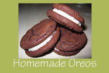 Mmm...Cafe: Homemade Oreo Cookies