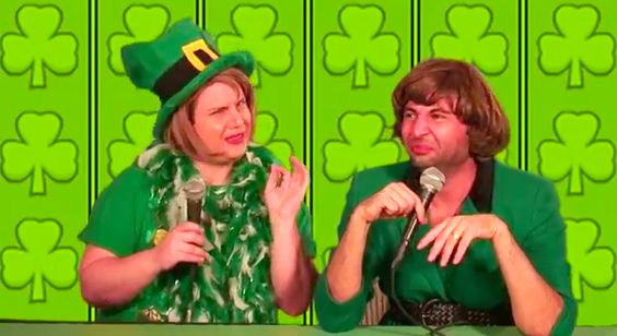 "Damiana Garcia & Gal Pal Barbara Cathy Delight Us With ""And Don't You Turn My Brown Eyes Green St. Patty's Day Festival Extravagreenza"" Video"