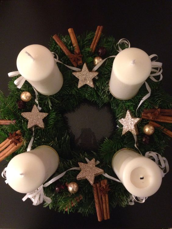 Advent wreath, Adventní věnec