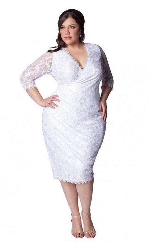 Igigi Plus Size 4X Wedding Dress White Lace Gisella Style V ...