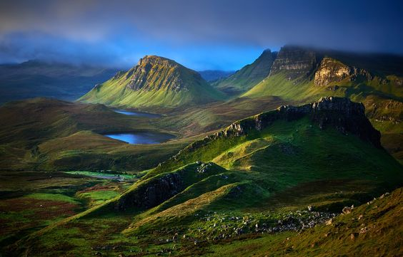 Sunrise at Quiraing by Tom Irving / 500px