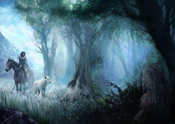 Jon Snow - Beyond the Wall by Evolvana.deviantart.com on @deviantART