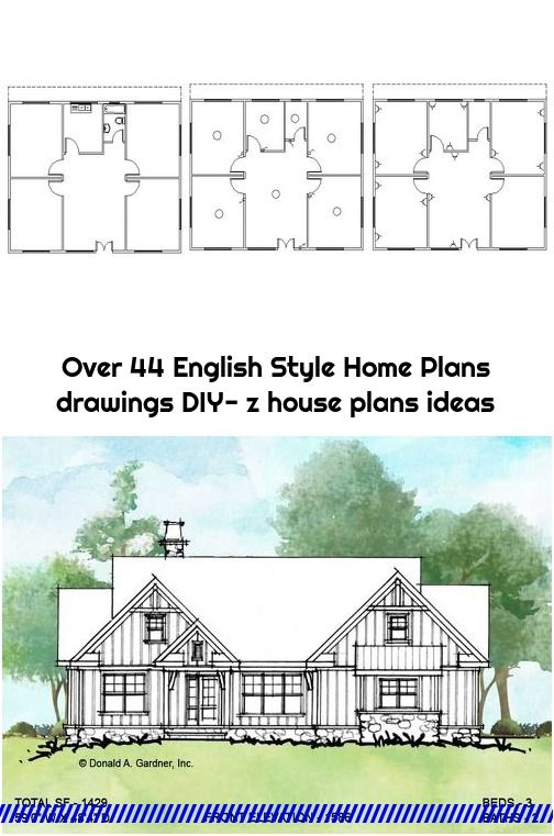 Over 44 English Style Home Plans Drawings Diy Z House Plans Ideas In 2020 Home Plan Drawing House Plans Craftsman House Plans
