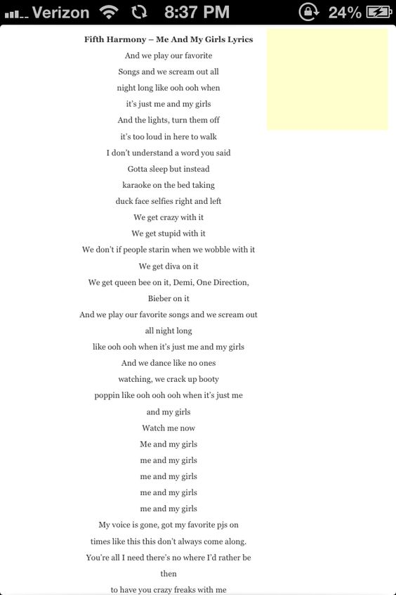 lyrics girl phone