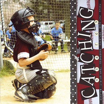 Baseball and Softball Scrapbook Pages: Create a Flip-Up Scrapbook Page to Include More Elements