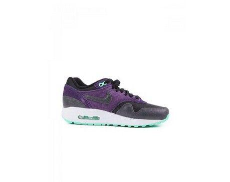 Sneakers Nike Air Max 1 Essential Vrouwen zwart / antraciet - paars