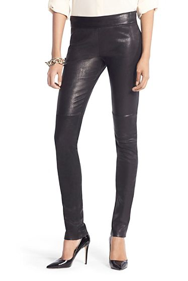 need these perfect stretch leather leggings now 50% off during ...