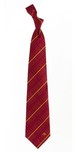 Iowa State Cyclones Woven Silk Necktie - Mens Tie