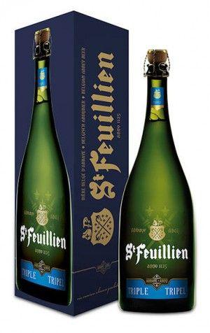 Bia St Feuillien Triple 8,5% - Chai 3000ml