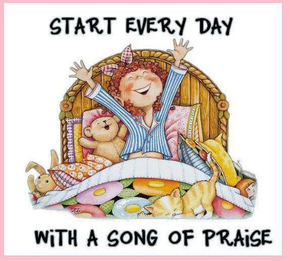 Praise you Lord for your new mercies, love and grace every day. Start every day this way!