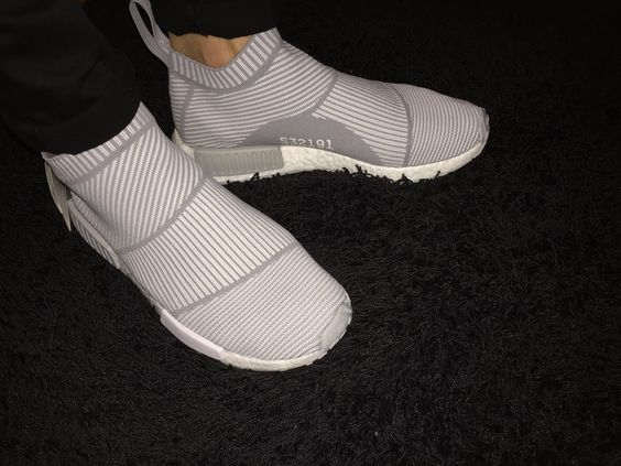 [PICKUP] Adidas NMD City Sock Grey (Unreleased) - ON FEET