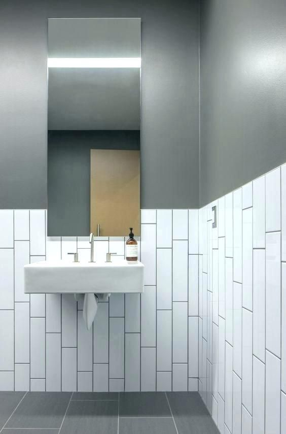 Image Result For Vertical Subway Tile Bathroom Wall Bathroom Installation Commercial Bathroom Designs Restroom Design
