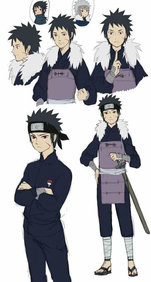 Izuna Fused With Tobirama Naruto Shippuden Anime Naruto Oc Characters Anime Naruto