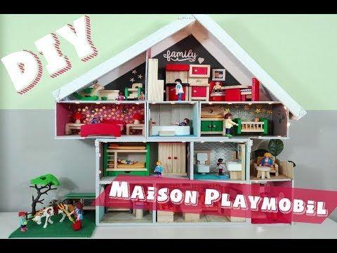 Comment Faire Une Maison De Playmobil Facile Youtube Maison