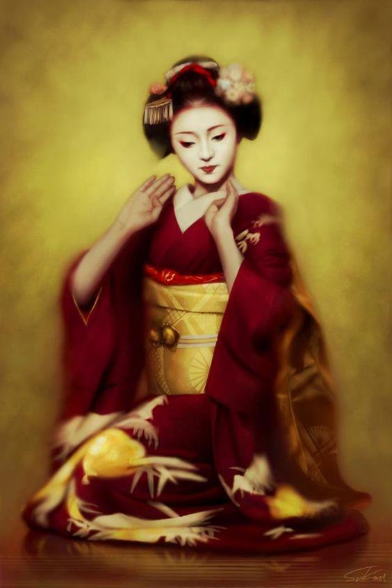 iPhone finger painting by Seikou Yamaoka