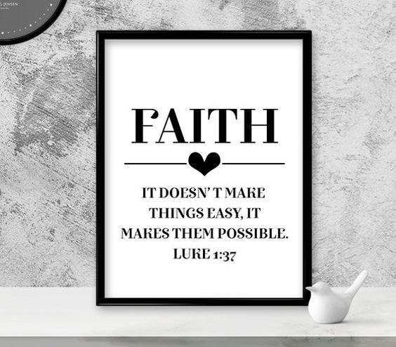 Religious Wall Art - Christian Wall Art - Canvas Wall Art - Black And White Wall Art - Bible Verse Art - Home Office Decor - Print Starting At $18.00 *Free ...