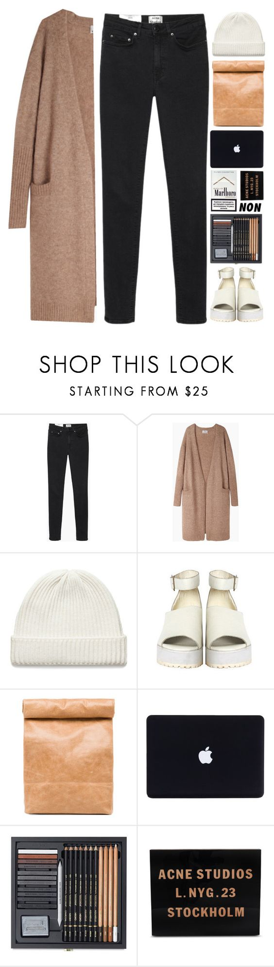 """calling // lewis watson"" by afton1217 ❤ liked on Polyvore featuring Acne Studios, The WhitePepper and Stampd"