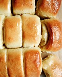 These fluffy, buttery Parker House rolls are an incredible gluten-free version of the original.