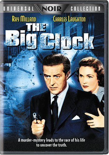 The Big Clock 1948 Film | Jaquette DVD/Blu-Ray - La Grande Horloge - The Big…