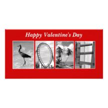 Love Spelled out in pictures Card