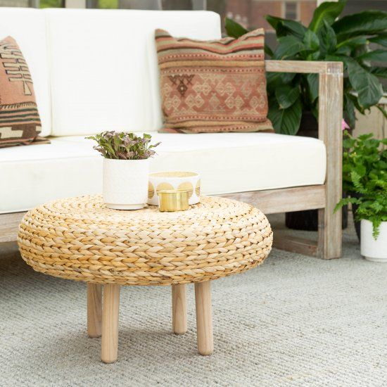 Turn an Ikea Alseda stool into the perfect outdoor (or
