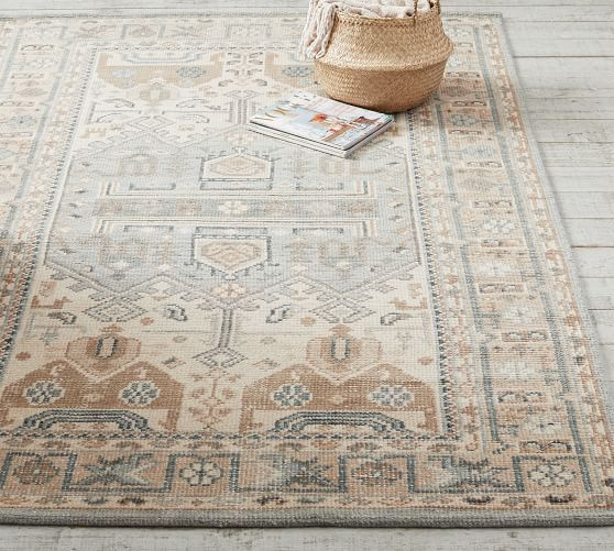 Nicolette Hand Knotted Wool Rug