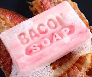 Save money on colognes and body sprays simply by adding the bacon soap to your bathing arsenal. After every shower you'll get to enjoy the succulent bacony...