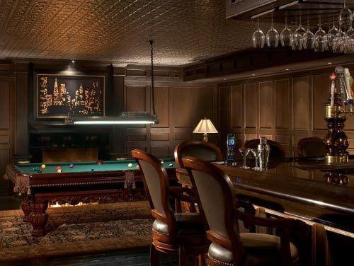 54 Best Billiard Room Images On Pinterest: Home Bar And Billiard's Room