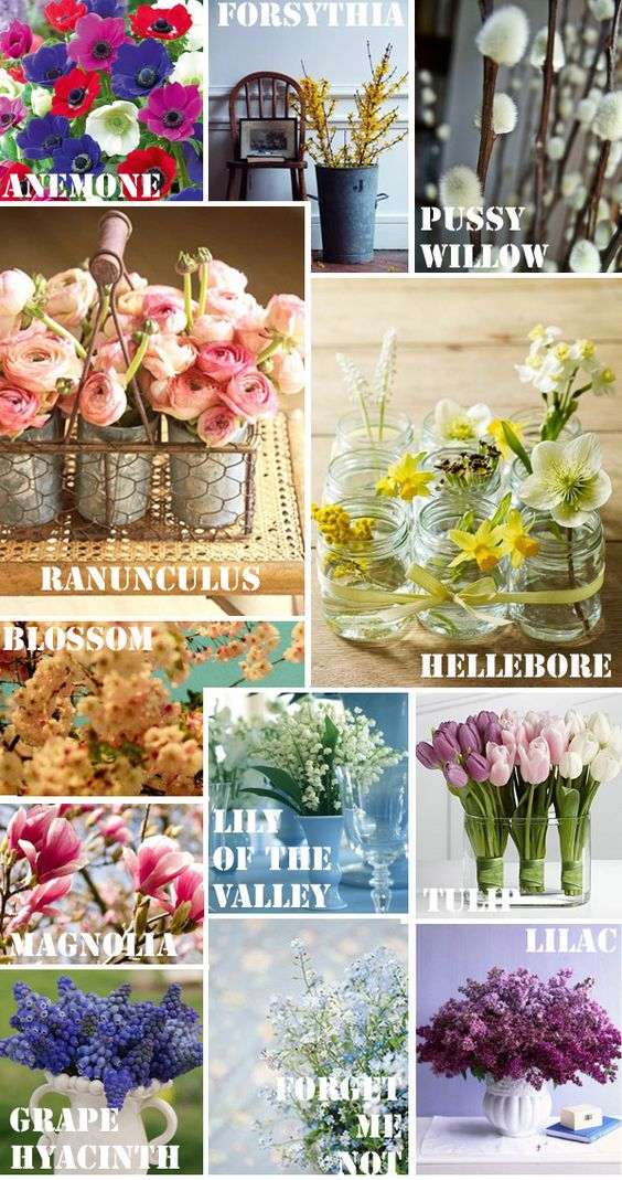 Florence's Florals: The Seasonal Series [Spring] on http://www.florencefinds.com