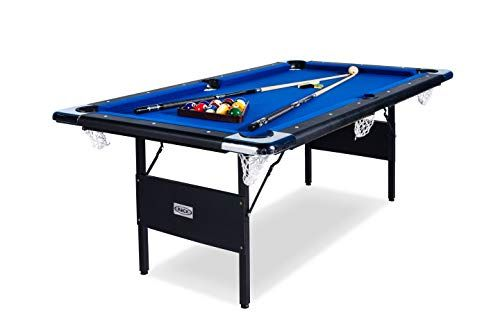 Top 10 Best Portable Pool Table Reviews Ultimate Guide 2020 Tables Folding - How Much Room Do You Need For A 6 Foot Pool Table