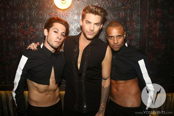 With Adam Lambert at Marquee New York. https://www.facebook.com/VossEvents/photos/o.82805678650/971490956229193/?type=3&theater…