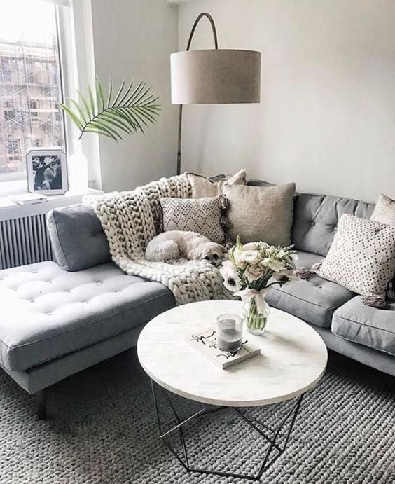 17 Tips Tricks For Small Space Living Small Living Room Decor Small Space Living Room Living Room Design Small Spaces