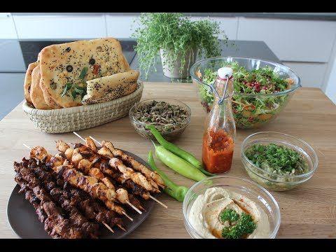 Meine Grillrezepte für euch: Lammspieße, Hähnchenspieße, veganes Gegrilltes - 22.06.14 neue Küche (aber noch nicht ganz fertig, nicht mehr in Küchenstudio) - YouTube
