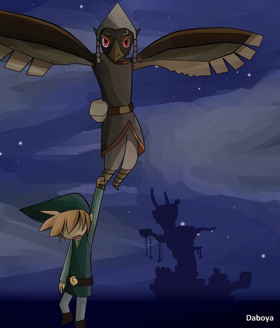 Wind Waker Rito Rescue Wind Waker Legend Of Zelda Fan Art