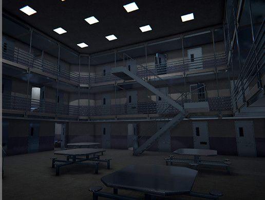 Prison Interior Vol2 3d Urban Unity Asset Store In 2021 Prison Interior Unity Asset Store