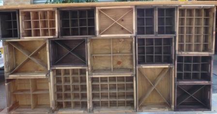 mixmatched crates