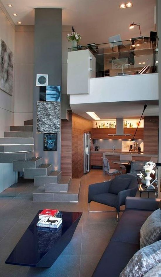 36 Desain Interior Rumah Minimalis Dengan Lantai Mezzanine 1000 Inspirasi Desain Arsitektur Teknologi Konstru Desain Interior Rumah Minimalis Interior Rumah