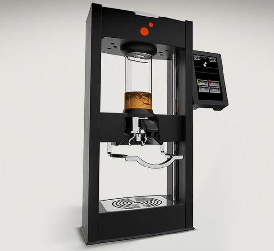 Vacuum-powered BKON TX tea maker makes perfect tea in 60 seconds