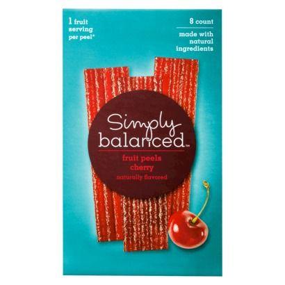 Simply Balanced Cherry Fruit Peels. Gotta love those Target brands ...