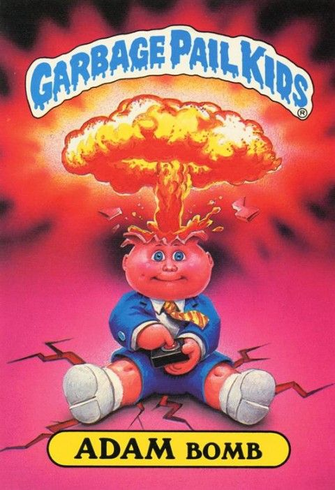 The Book Zone: Review: Garbage Pail Kids (National Non-Fiction Day 2012)