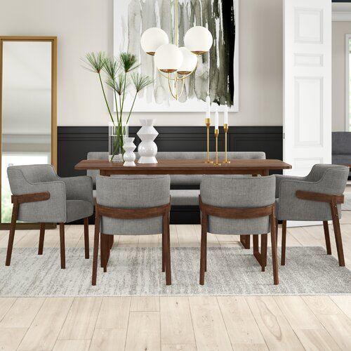 34++ Upholstered bench dining table Best Seller