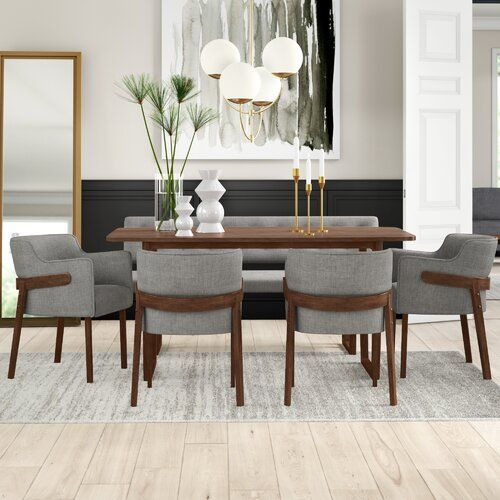 Mukai Upholstered Bench In 2021 Dining Room Sets Modern Dining Table Furniture