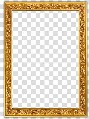 Frame Glyph Golden Border Gold Embossed Frame Transparent Background Png Clipart Yellow Framed Art Poster Background Design Gold Design Background