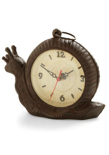 Slow and Tell Clock