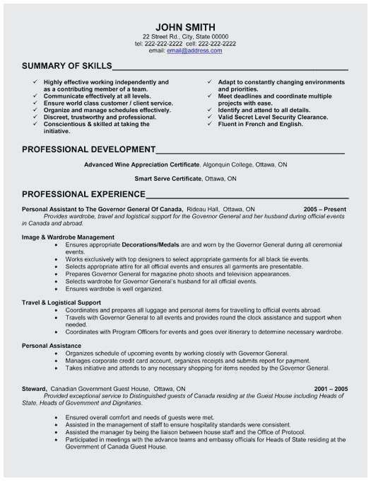 74 Elegant Collection Of Resume Professional Summary Examples